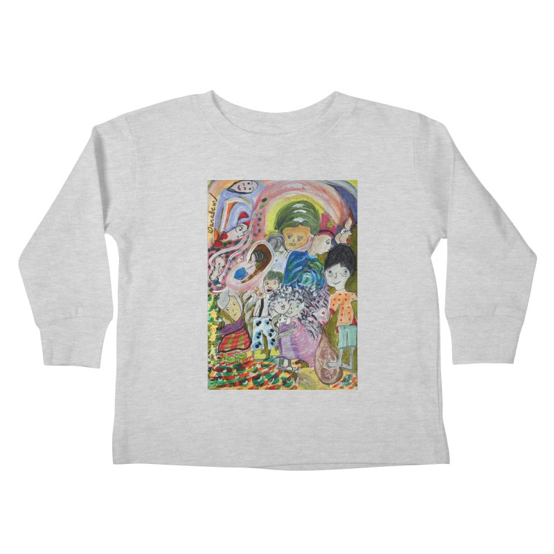 Value Kids Toddler Longsleeve T-Shirt by Darabem's Artist Shop. Darabem Collection