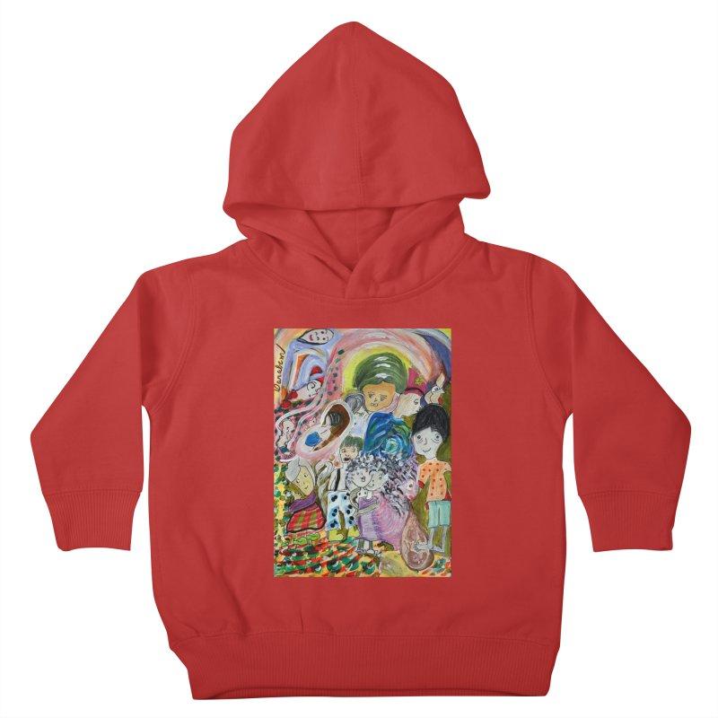 Value Kids Toddler Pullover Hoody by Darabem's Artist Shop. Darabem Collection