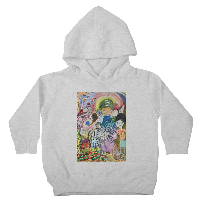 Value Kids Toddler Pullover Hoody by Darabem's Artist Shop. Darabem Collection