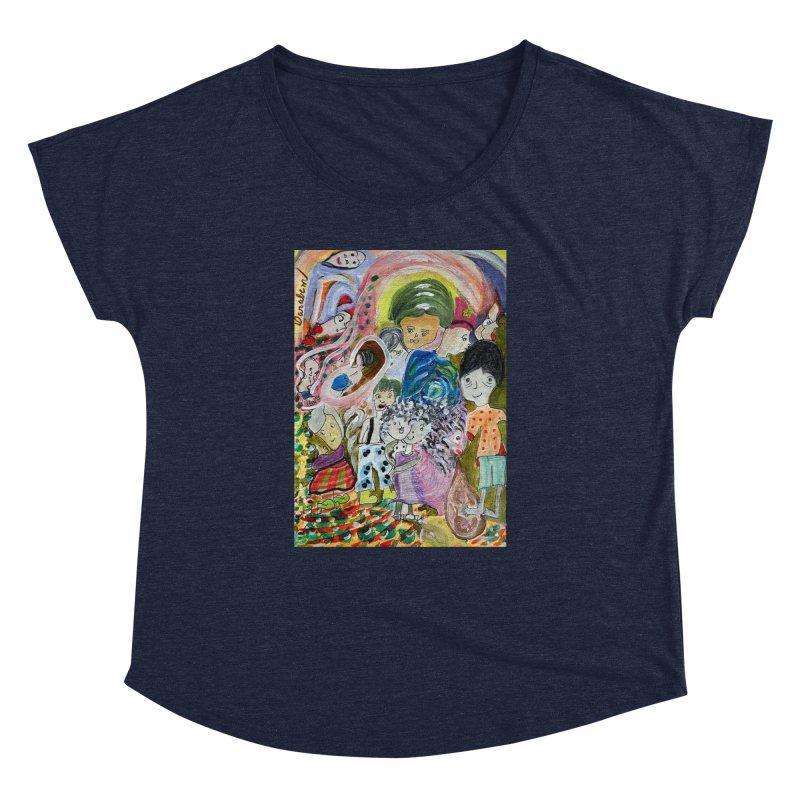 Value Women's Dolman Scoop Neck by Darabem's Artist Shop. Darabem Collection