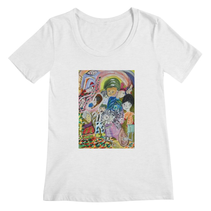 Value Women's Regular Scoop Neck by Darabem's Artist Shop. Darabem Collection