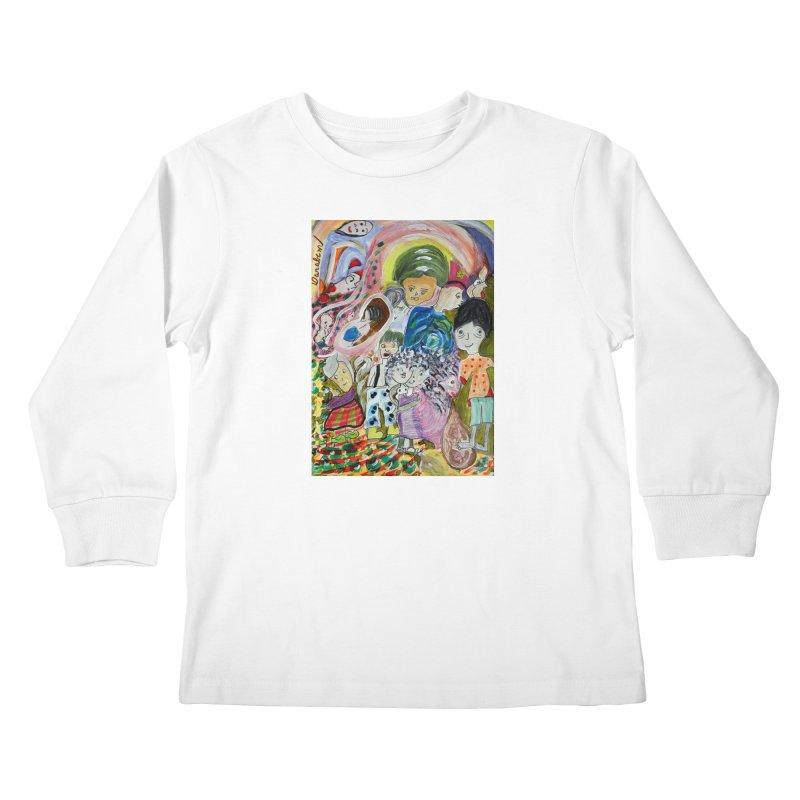 Value Kids Longsleeve T-Shirt by Darabem's Artist Shop. Darabem Collection