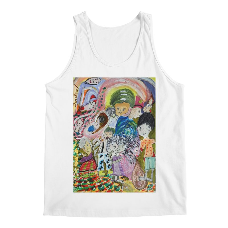 Value Men's Regular Tank by Darabem's Artist Shop. Darabem Collection