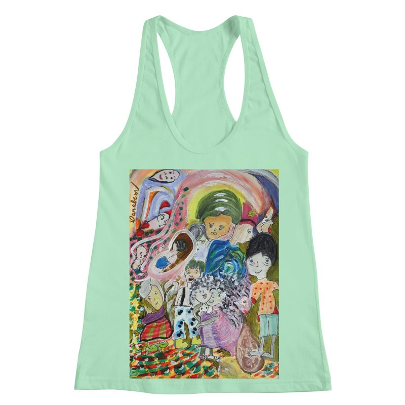Value Women's Racerback Tank by Darabem's Artist Shop. Darabem Collection