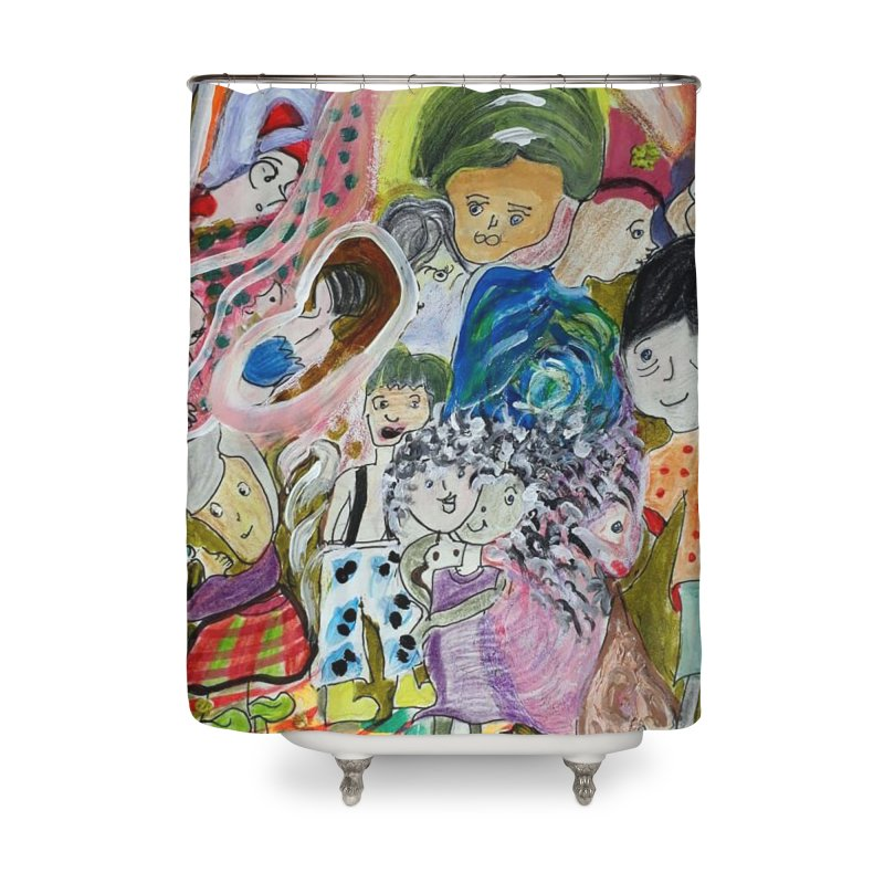 Value Home Shower Curtain by Darabem's Artist Shop. Darabem Collection