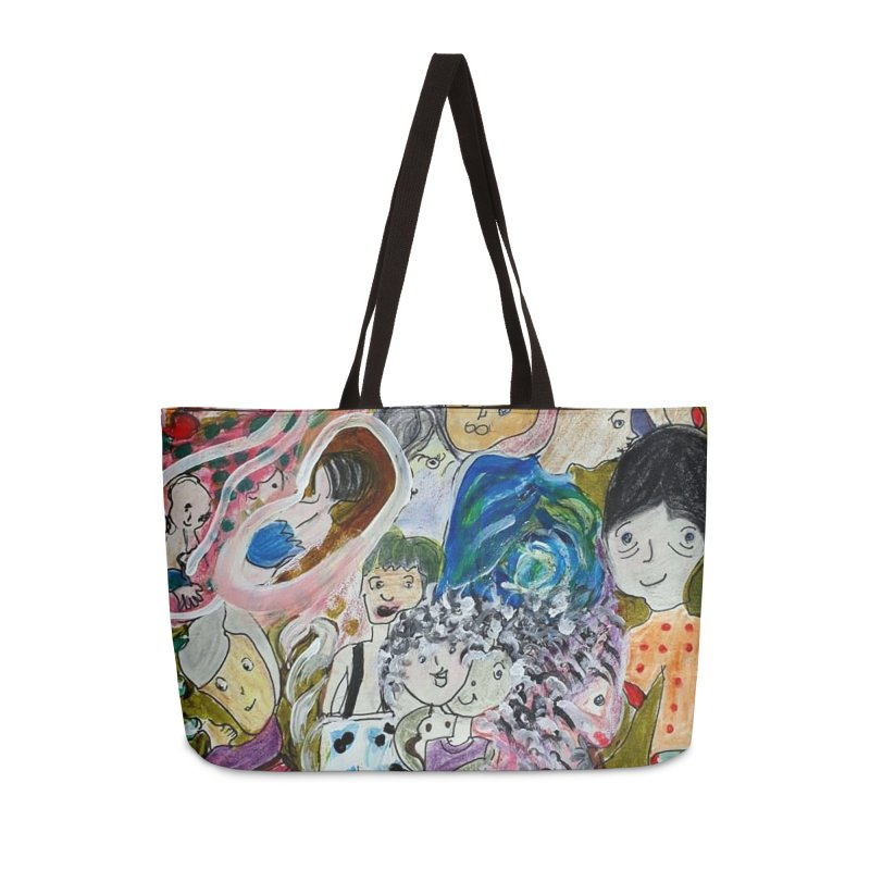 Value Accessories Weekender Bag Bag by Darabem's Artist Shop. Darabem Collection