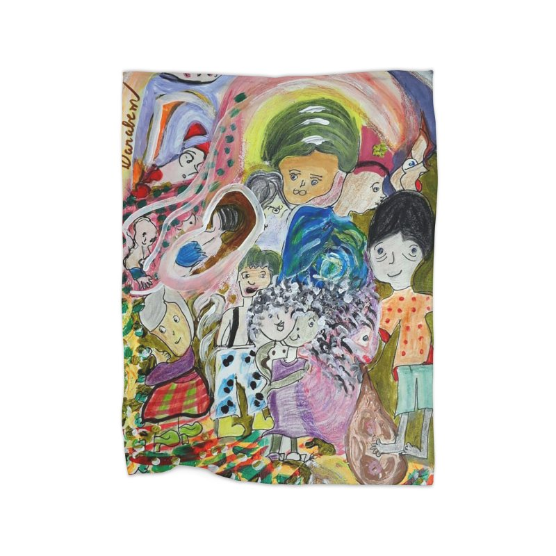 Value Home Blanket by Darabem's Artist Shop. Darabem Collection