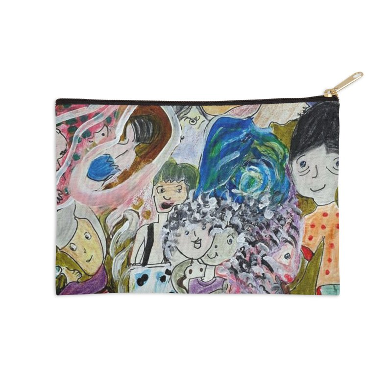 Value Accessories Zip Pouch by Darabem's Artist Shop. Darabem Collection