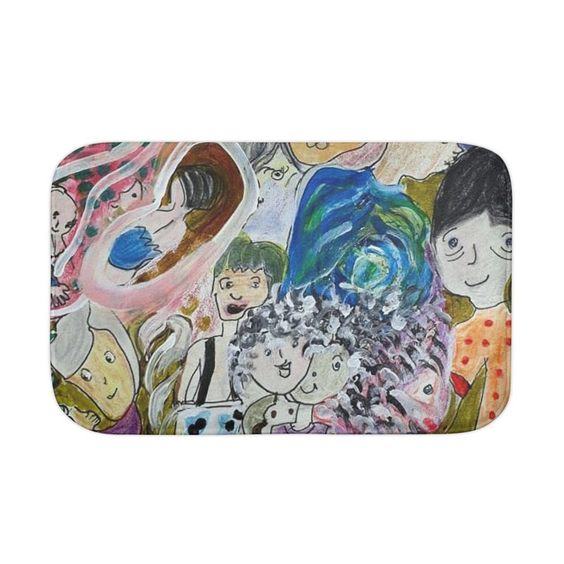 Value Home Bath Mat by Darabem's Artist Shop. Darabem Collection