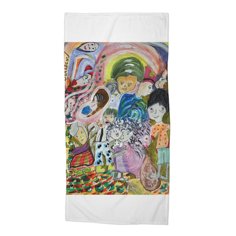 Value Accessories Beach Towel by Darabem's Artist Shop. Darabem Collection