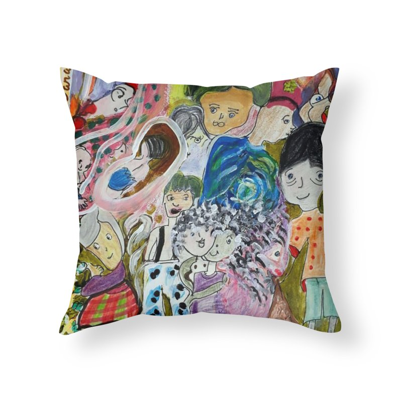 Value Home Throw Pillow by Darabem's Artist Shop. Darabem Collection
