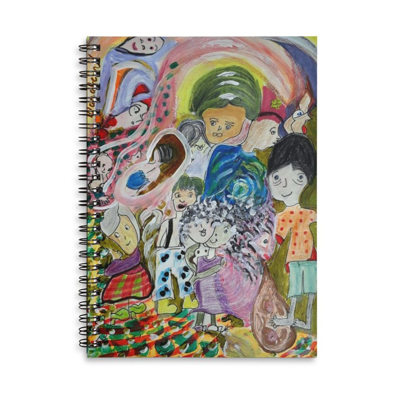 Value Accessories Lined Spiral Notebook by Darabem's Artist Shop. Darabem Collection
