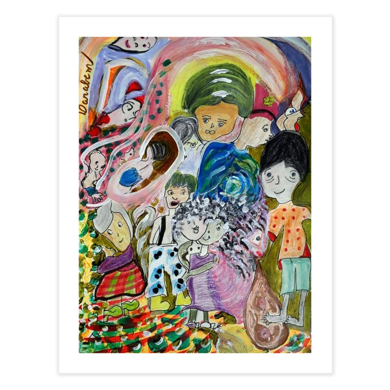 Value Home Fine Art Print by Darabem's Artist Shop. Darabem Collection