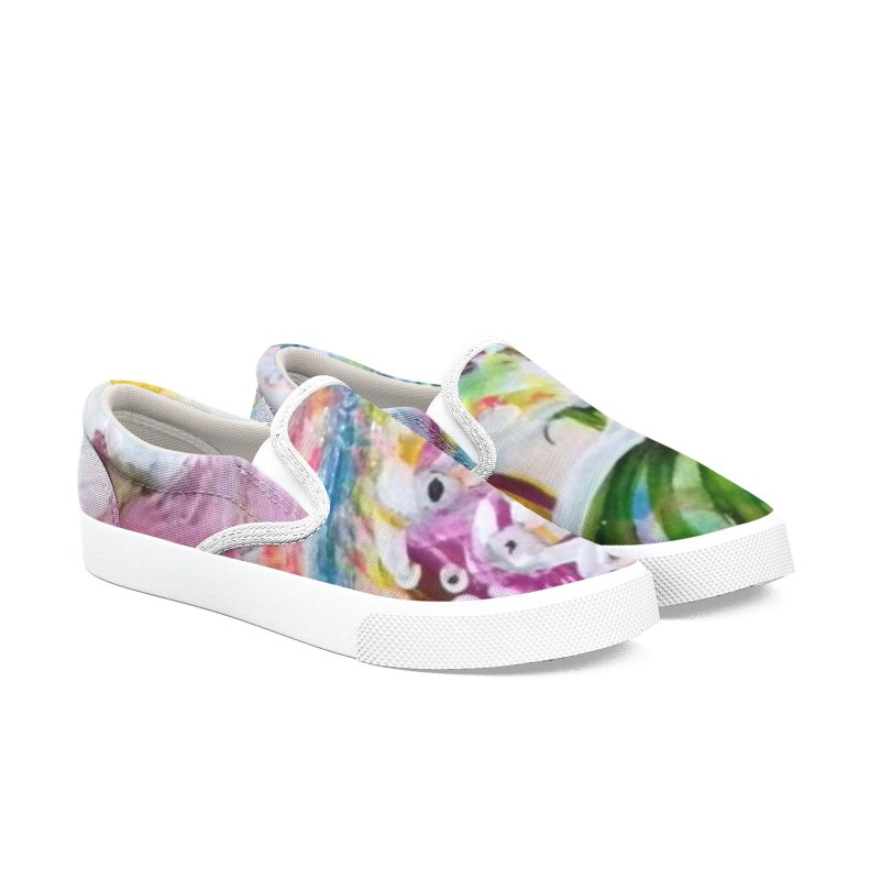 First it was the chicken Men's Slip-On Shoes by Darabem's Artist Shop. Darabem Collection