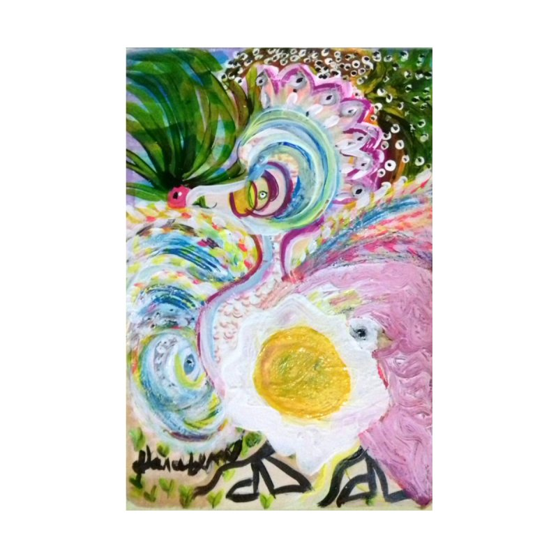 First it was the chicken Home Fine Art Print by Darabem's Artist Shop. Darabem Collection
