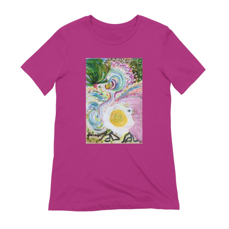 First it was the chicken Women's Extra Soft T-Shirt by Darabem's Artist Shop. Darabem Collection