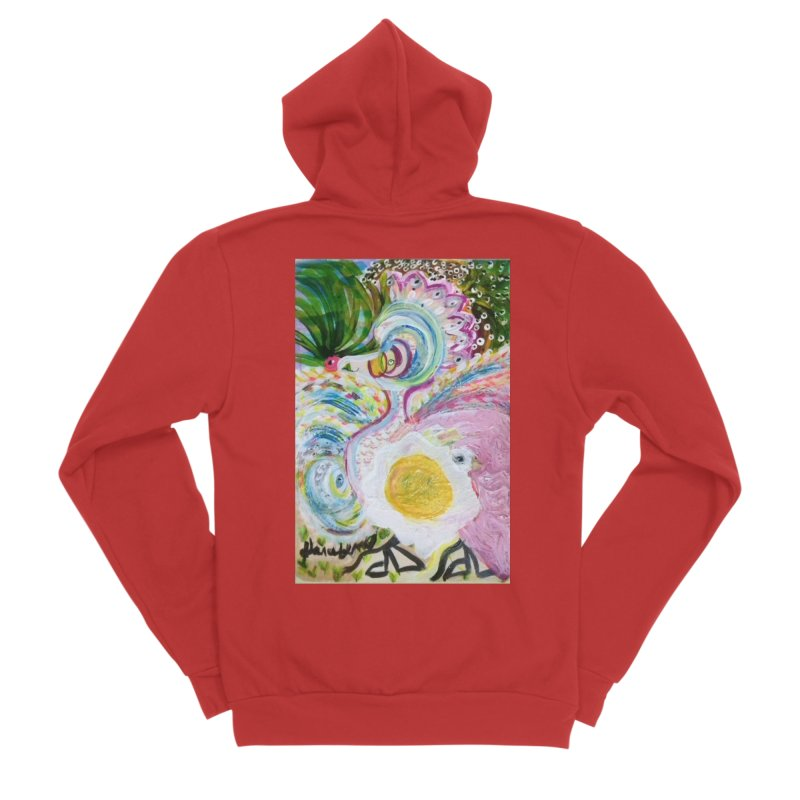 First it was the chicken Men's Zip-Up Hoody by Darabem's Artist Shop. Darabem Collection