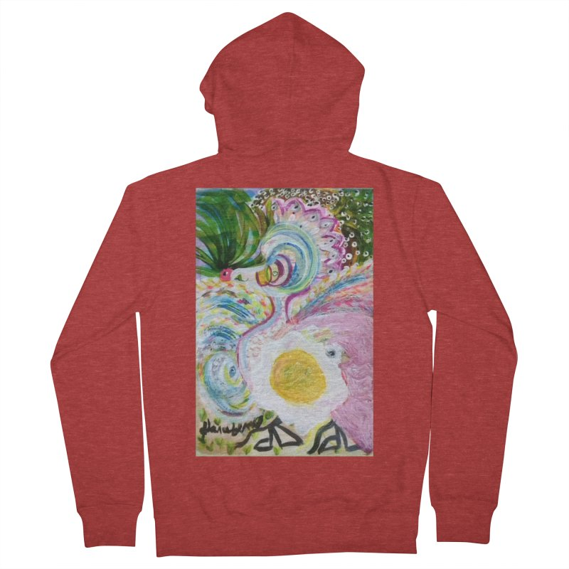 First it was the chicken Men's French Terry Zip-Up Hoody by Darabem's Artist Shop. Darabem Collection