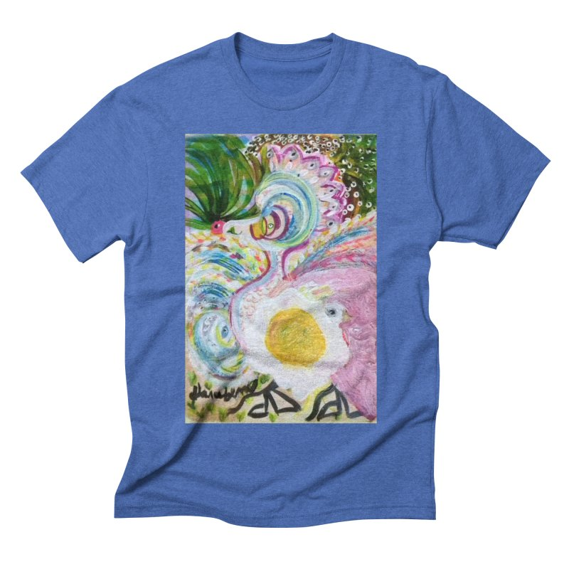 First it was the chicken Men's Triblend T-Shirt by Darabem's Artist Shop. Darabem Collection