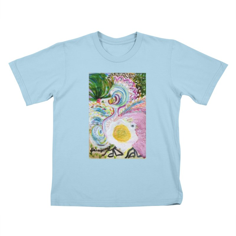 First it was the chicken Kids T-Shirt by Darabem's Artist Shop. Darabem Collection