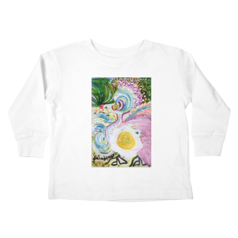 First it was the chicken Kids Toddler Longsleeve T-Shirt by Darabem's Artist Shop. Darabem Collection