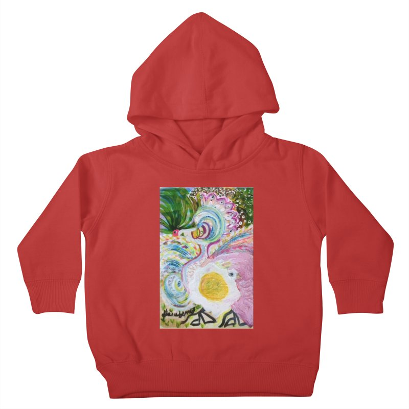 First it was the chicken Kids Toddler Pullover Hoody by Darabem's Artist Shop. Darabem Collection