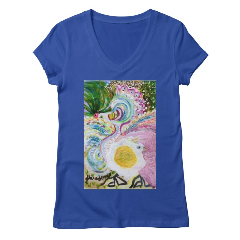 First it was the chicken Women's V-Neck by Darabem's Artist Shop. Darabem Collection