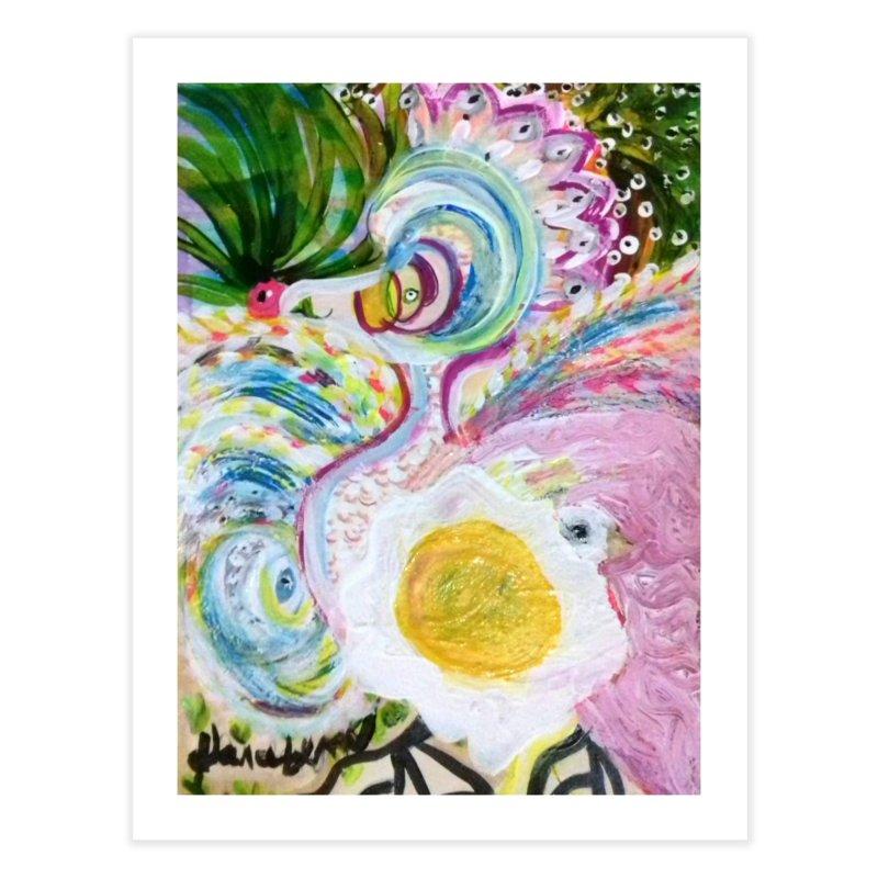 First it was the chicken Home Fine Art Print by Darabem's Artist Shop. Darabem Collection