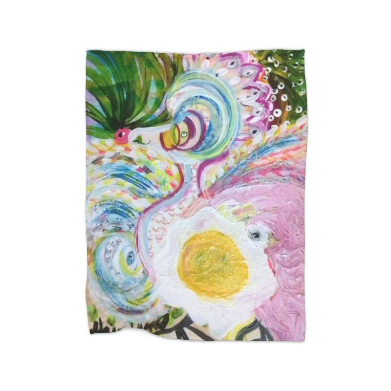 First it was the chicken Home Fleece Blanket Blanket by Darabem's Artist Shop. Darabem Collection