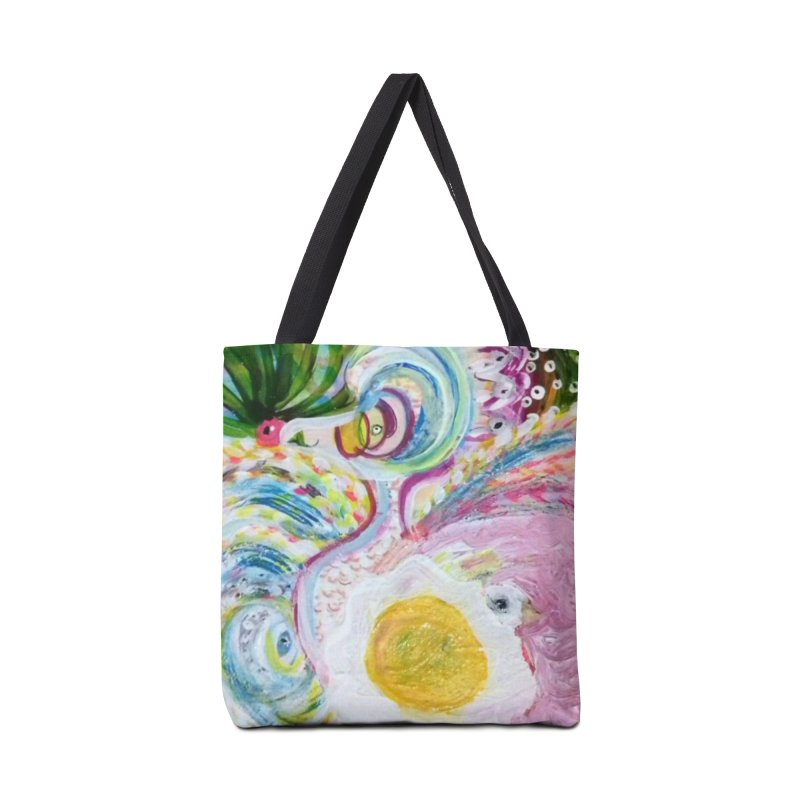 First it was the chicken Accessories Tote Bag Bag by Darabem's Artist Shop. Darabem Collection