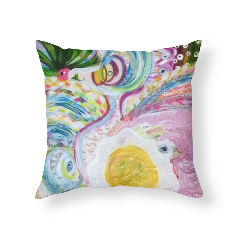First it was the chicken Home Throw Pillow by Darabem's Artist Shop. Darabem Collection