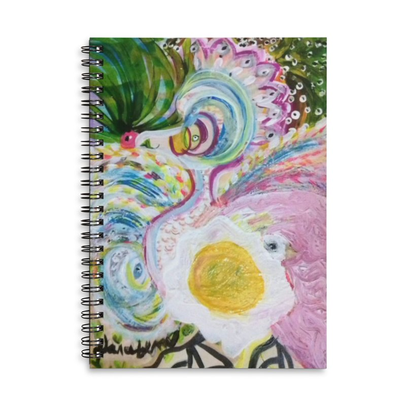 First it was the chicken Accessories Lined Spiral Notebook by Darabem's Artist Shop. Darabem Collection