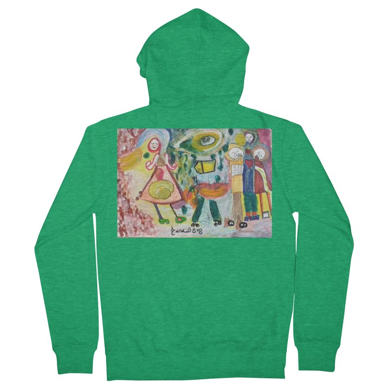 Praise the difference Women's Zip-Up Hoody by Darabem's Artist Shop. Darabem Collection