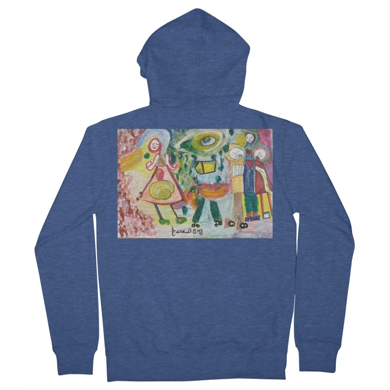 Praise the difference Women's French Terry Zip-Up Hoody by Darabem's Artist Shop. Darabem Collection