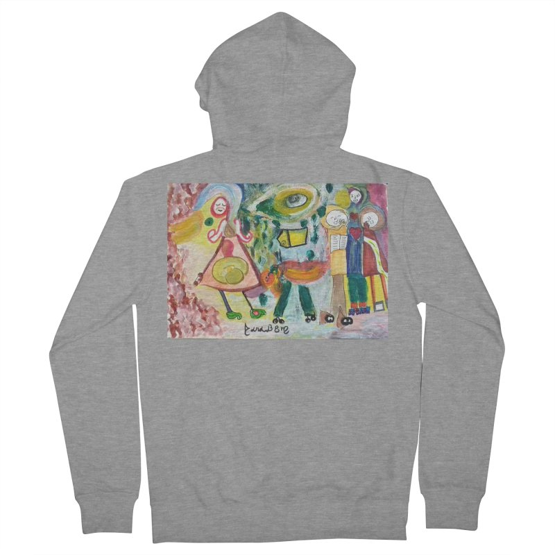 Praise the difference Men's French Terry Zip-Up Hoody by Darabem's Artist Shop. Darabem Collection