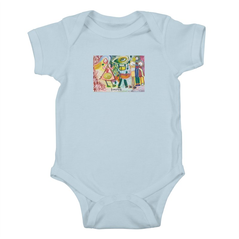 Praise the difference Kids Baby Bodysuit by Darabem's Artist Shop. Darabem Collection