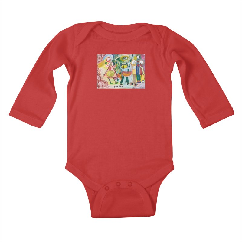Praise the difference Kids Baby Longsleeve Bodysuit by Darabem's Artist Shop. Darabem Collection