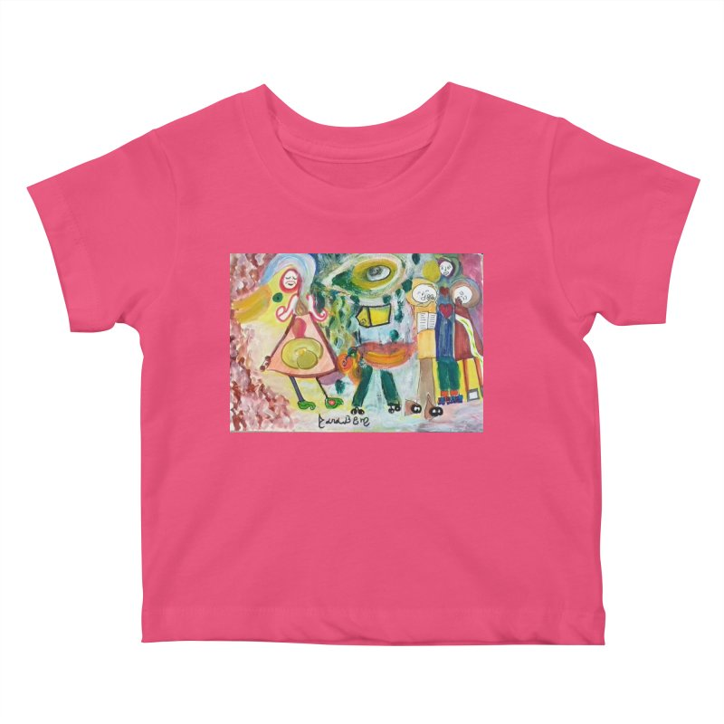 Praise the difference Kids Baby T-Shirt by Darabem's Artist Shop. Darabem Collection