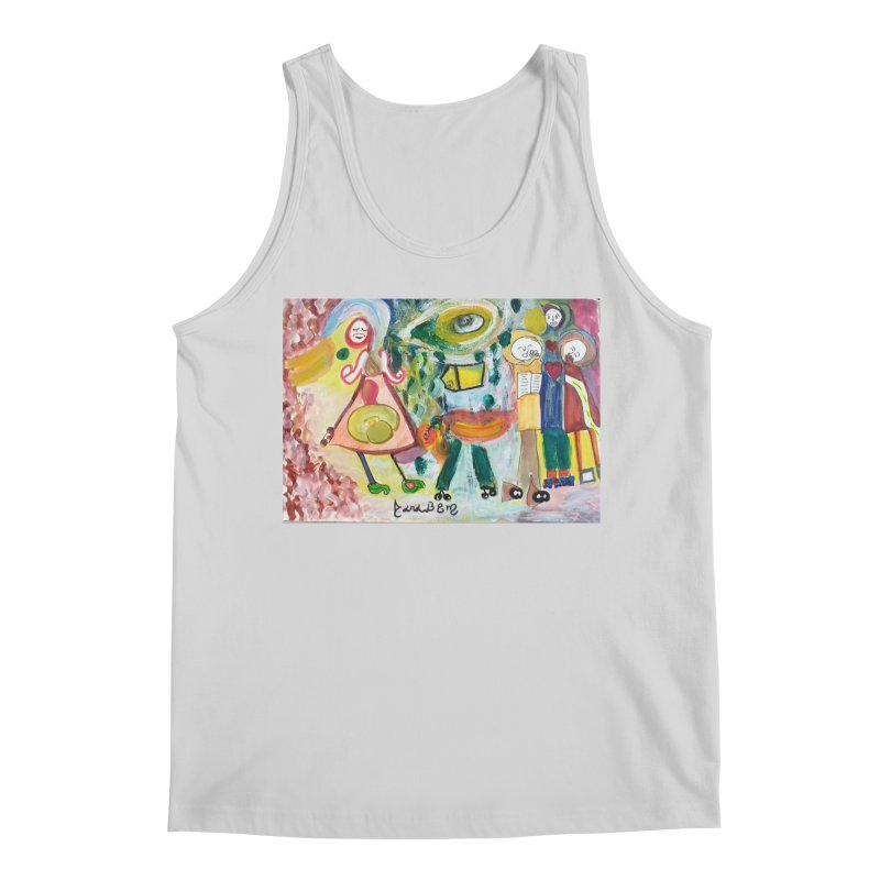 Praise the difference Men's Regular Tank by Darabem's Artist Shop. Darabem Collection