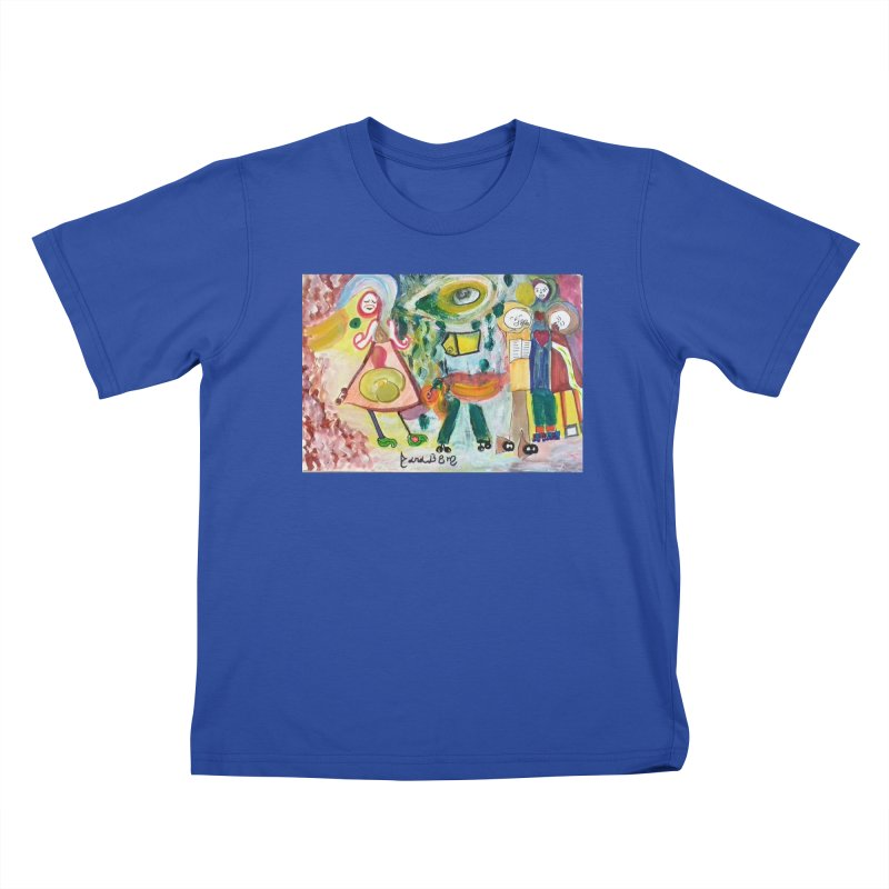Praise the difference Kids T-Shirt by Darabem's Artist Shop. Darabem Collection