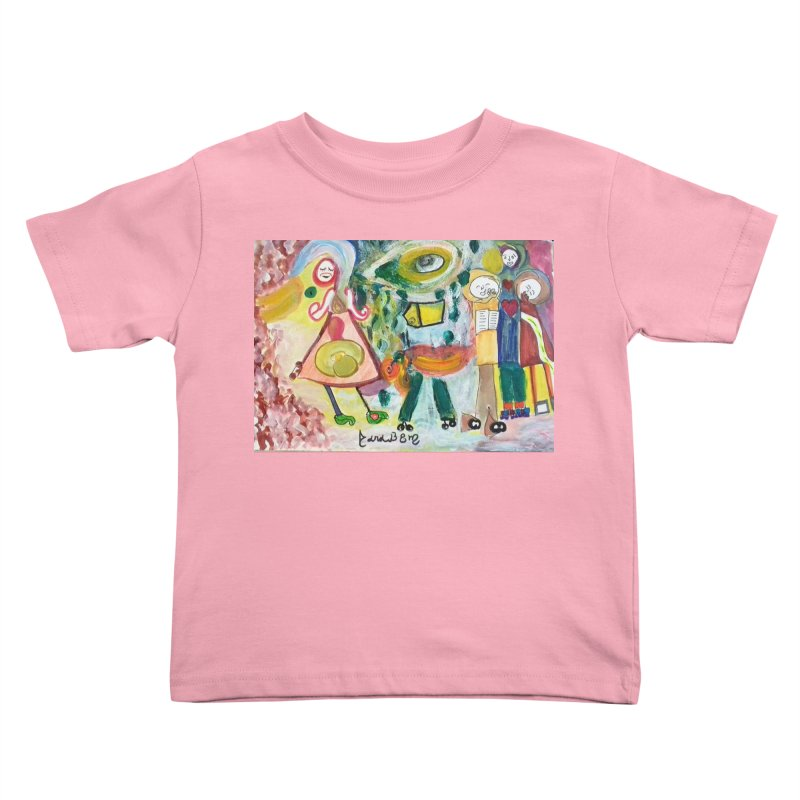 Praise the difference Kids Toddler T-Shirt by Darabem's Artist Shop. Darabem Collection
