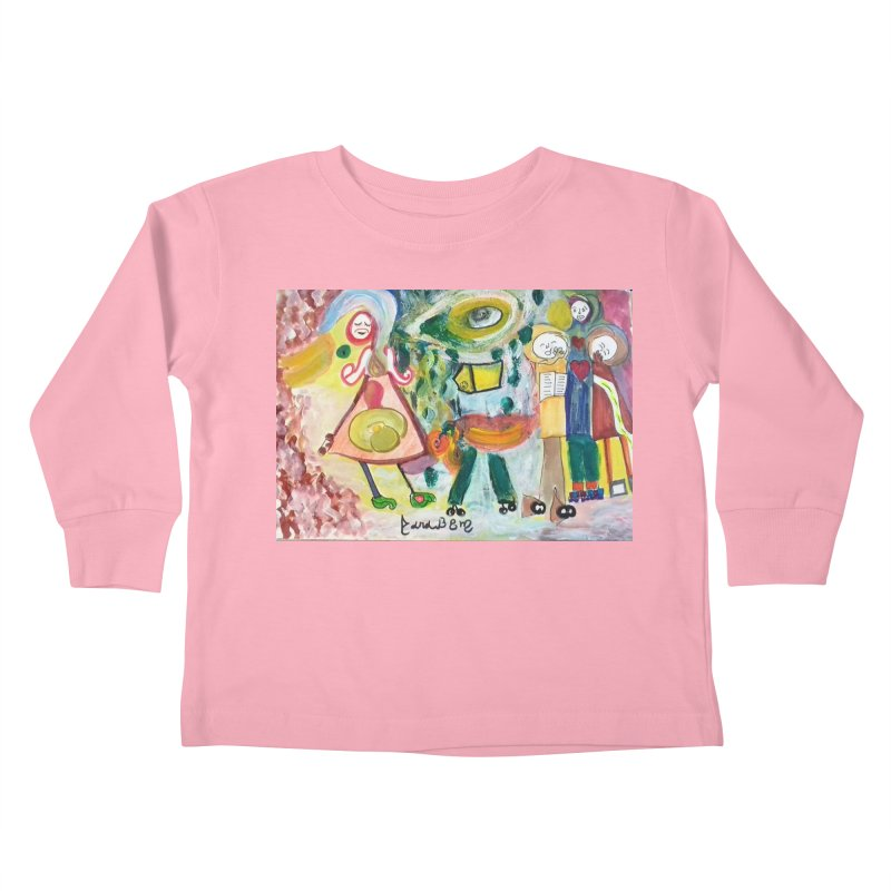 Praise the difference Kids Toddler Longsleeve T-Shirt by Darabem's Artist Shop. Darabem Collection