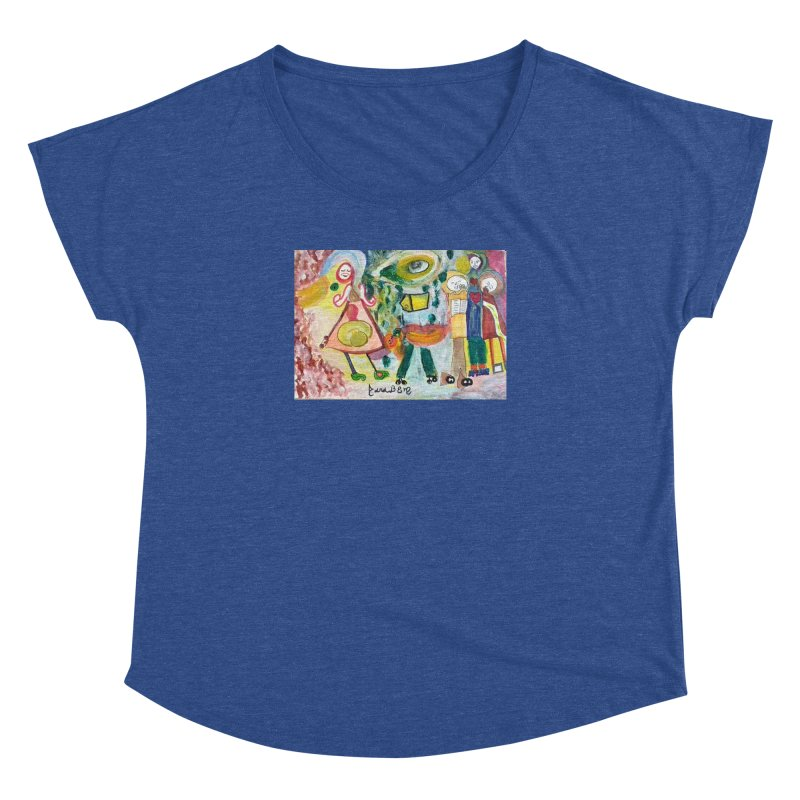 Praise the difference Women's Dolman Scoop Neck by Darabem's Artist Shop. Darabem Collection