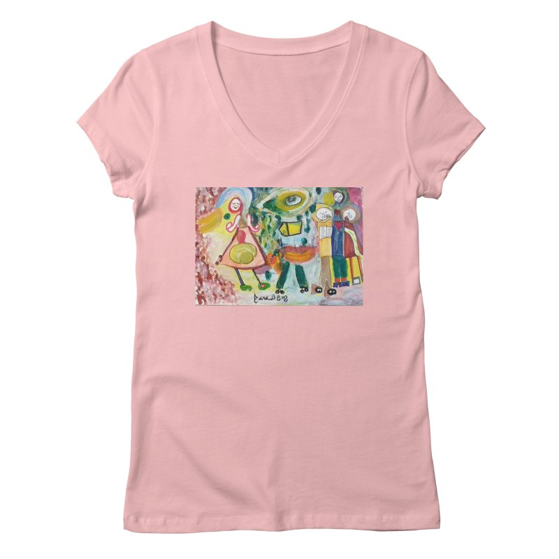 Praise the difference Women's Regular V-Neck by Darabem's Artist Shop. Darabem Collection
