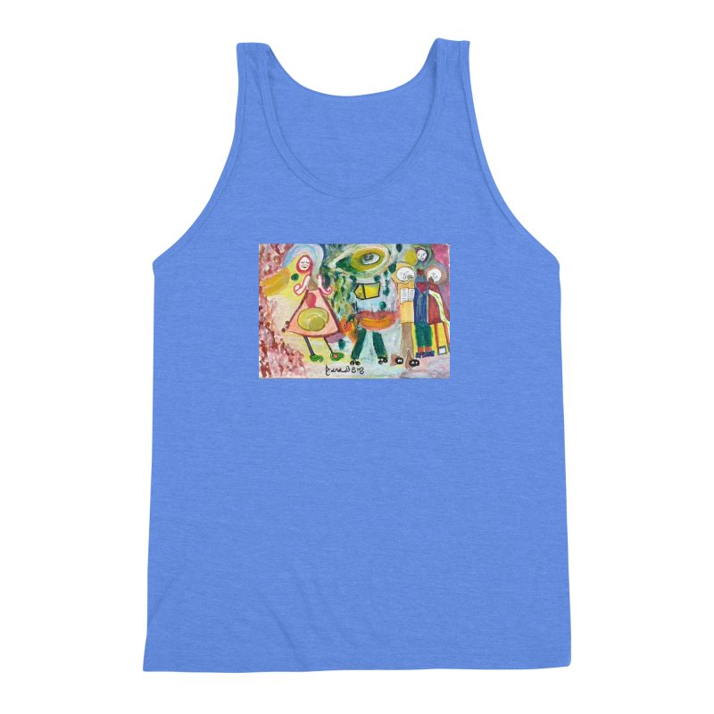Praise the difference Men's Triblend Tank by Darabem's Artist Shop. Darabem Collection