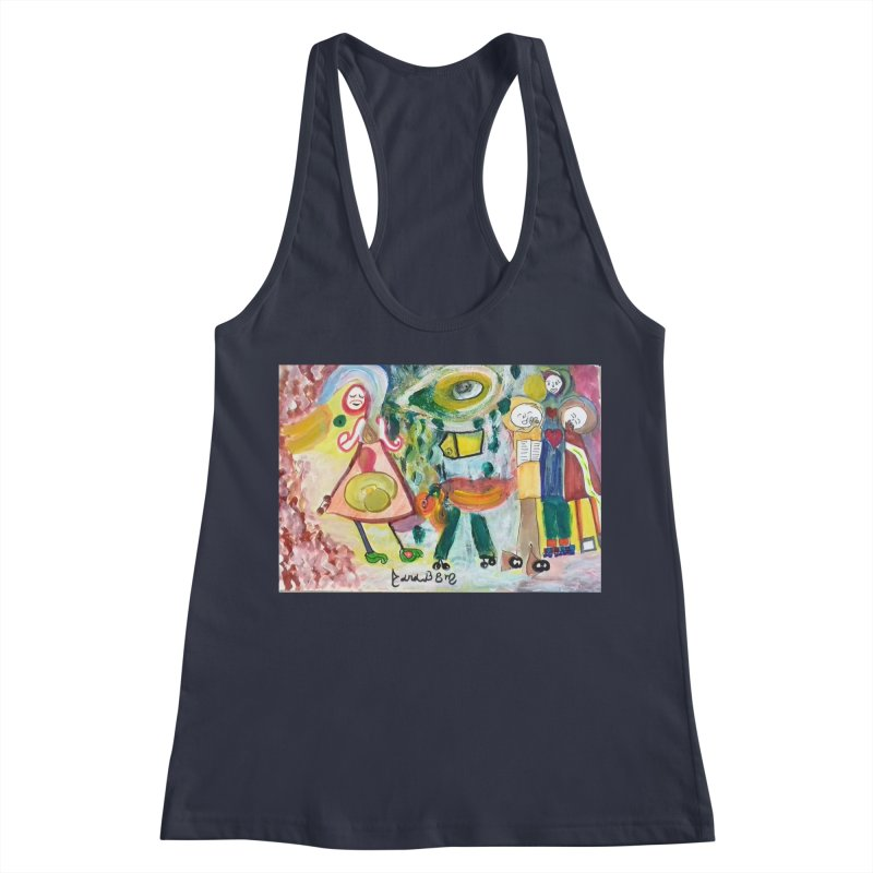 Praise the difference Women's Racerback Tank by Darabem's Artist Shop. Darabem Collection