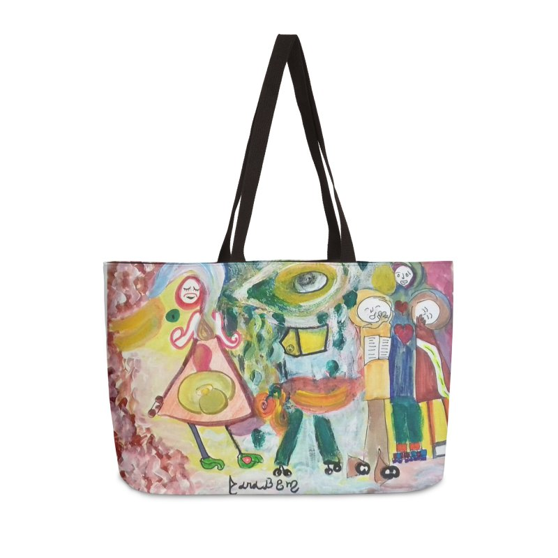 Praise the difference Accessories Weekender Bag Bag by Darabem's Artist Shop. Darabem Collection