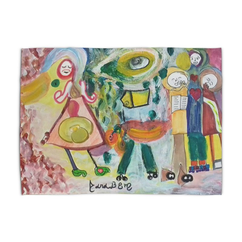 Praise the difference Home Rug by Darabem's Artist Shop. Darabem Collection