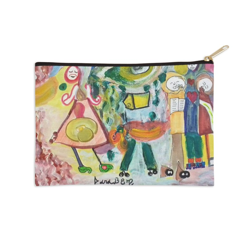 Praise the difference Accessories Zip Pouch by Darabem's Artist Shop. Darabem Collection