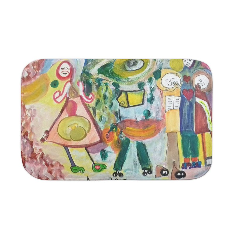 Praise the difference Home Bath Mat by Darabem's Artist Shop. Darabem Collection
